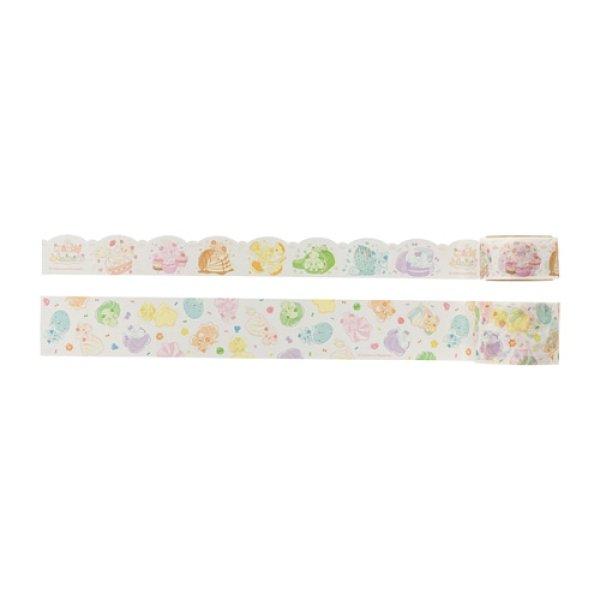 Photo1: Pokemon Center 2021 Mawhip a la mode Alcremie Sticky Paper Masking Tape (1)