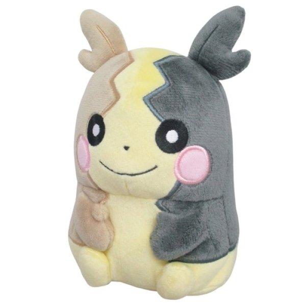 Photo1: Pokemon 2020 ALL STAR COLLECTION Morpeko Full Belly Mode Plush Toy SAN-EI (1)