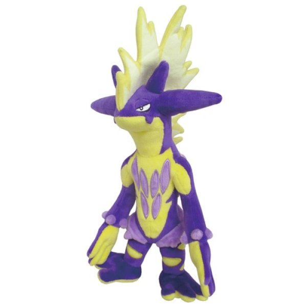 Photo1: Pokemon 2020 ALL STAR COLLECTION Toxtricity Amped Form Plush Toy SAN-EI (1)