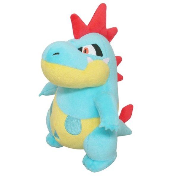 Photo1: Pokemon 2020 ALL STAR COLLECTION Croconaw Plush Toy SAN-EI (1)