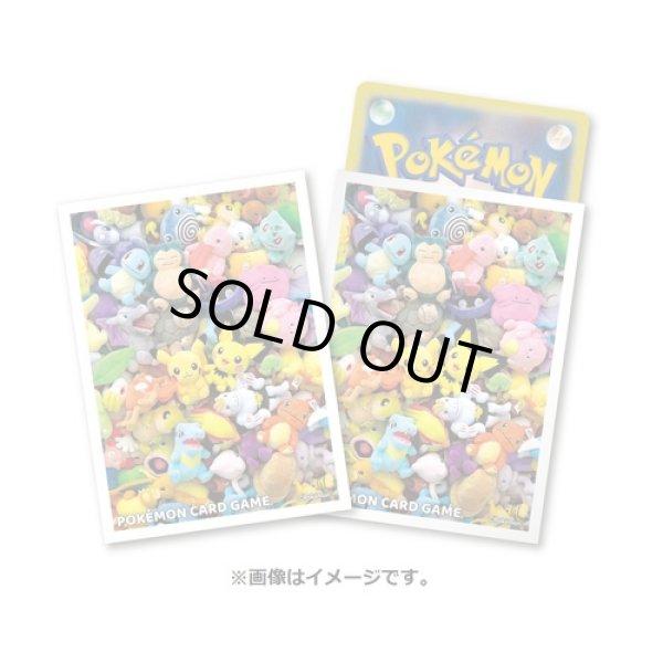 Photo1: Pokemon Center Original Card Game Sleeve Pokemon fit 64 sleeves (1)