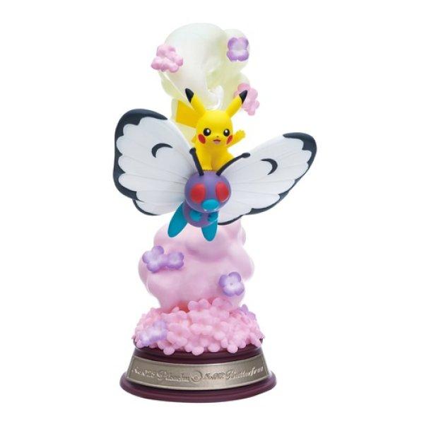 Photo1: Pokemon 2021 SWING VIGNETTE Collection vol.1 #1 Pikachu Butterfree Mini Figure (1)