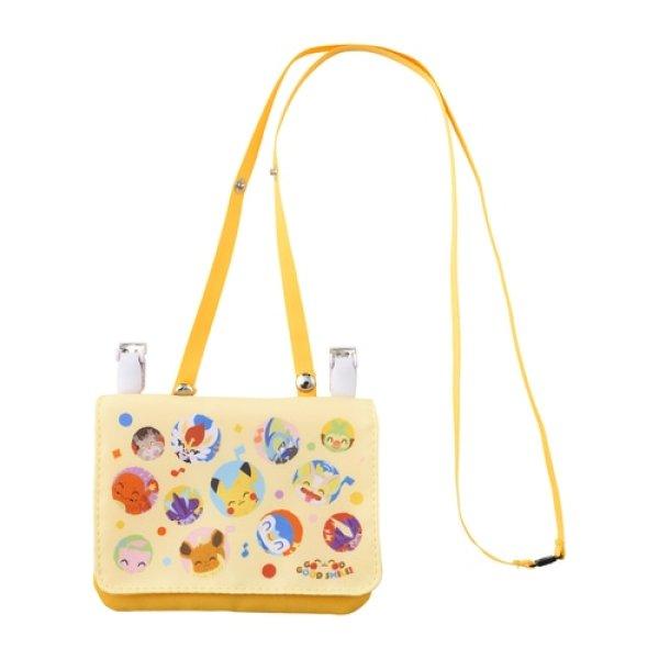 Photo1: Pokemon Center 2021 GOOD GOOD SMILE! Multi-pocket pouch bag (1)