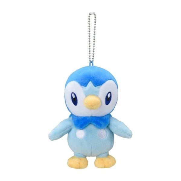 Photo1: Pokemon Center 2021 Plush Mascot Key Chain Piplup (1)