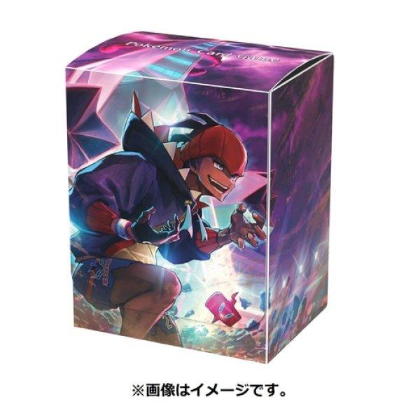 Photo1: Pokemon Center Original Card Game Flip deck case Raihan Duraludon (1)
