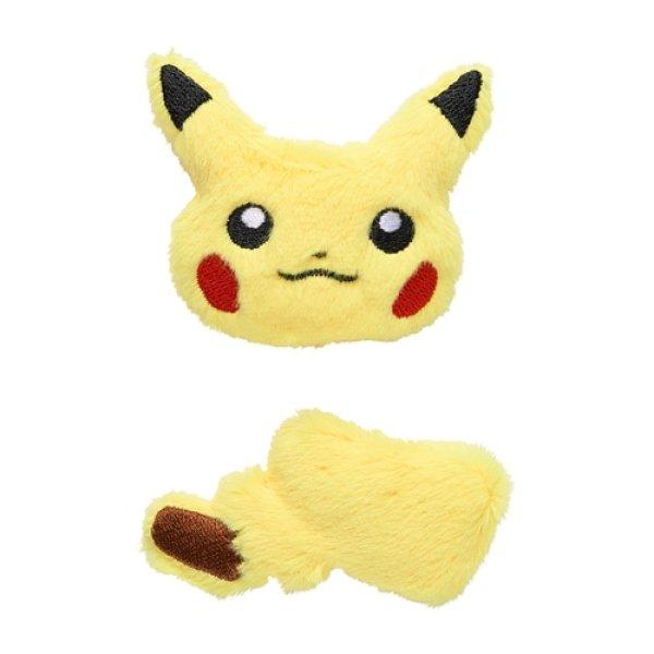 Photo1: Pokemon Center 2021 Pokemon accessory Series Fluffy Hair clip Hairpin H48 (1)