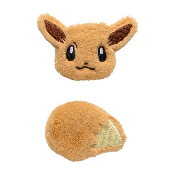 Photo1: Pokemon Center 2021 Pokemon accessory Series Fluffy Hair clip Hairpin H50 (1)