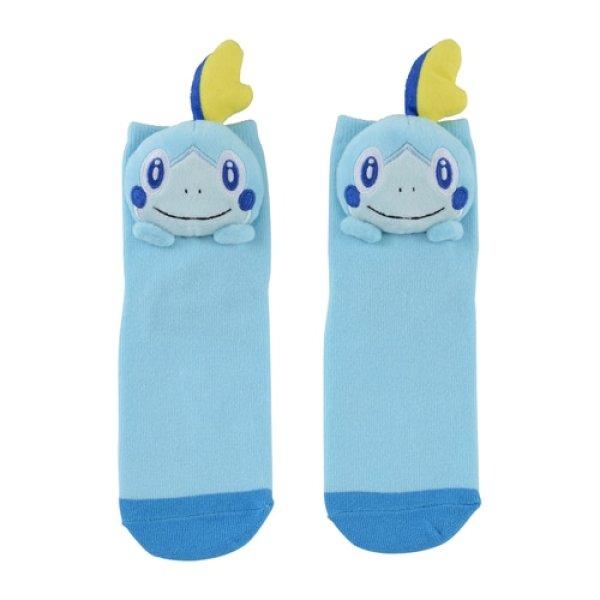 Photo1: Pokemon Center 2020 Plush Socks for Women 23 - 25 cm 1 Pair Sobble (1)