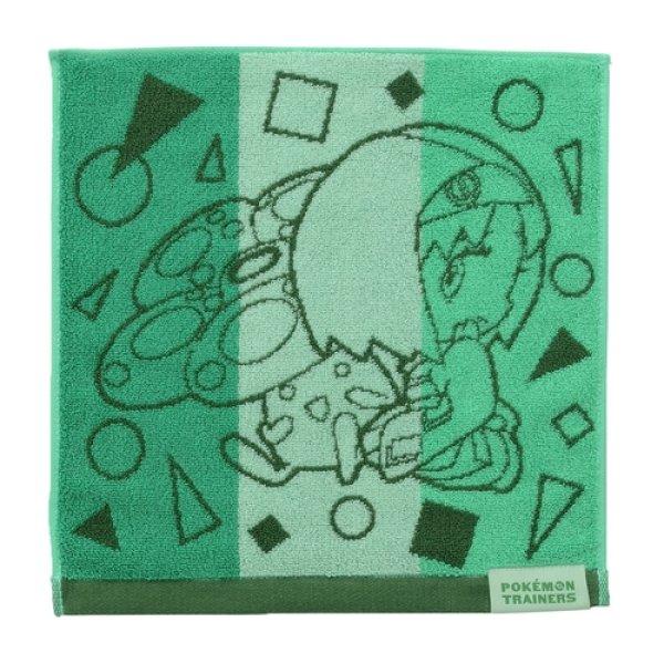 Photo1: Pokemon Center 2020 Pokemon Trainer Hand towel Handkerchief Erika Vileplume (1)