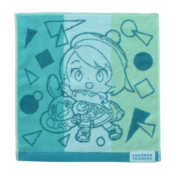 Photo1: Pokemon Center 2020 Pokemon Trainer Hand towel Handkerchief Gloria Sobble (1)