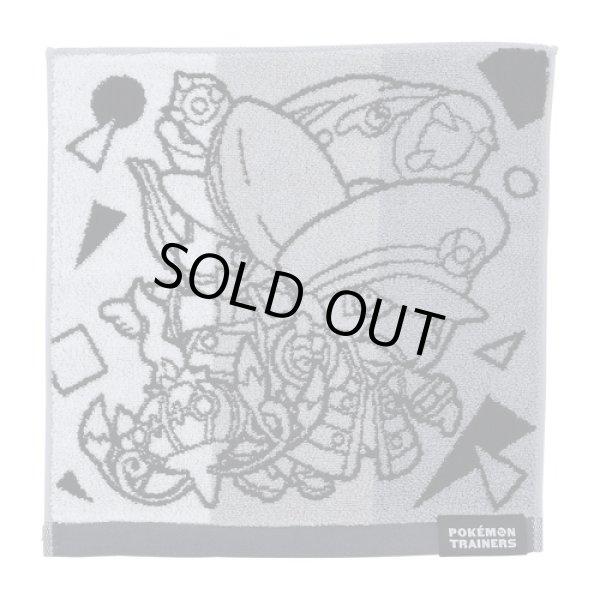 Photo1: Pokemon Center 2020 Pokemon Trainer Hand towel Handkerchief Emmet Ingo (1)