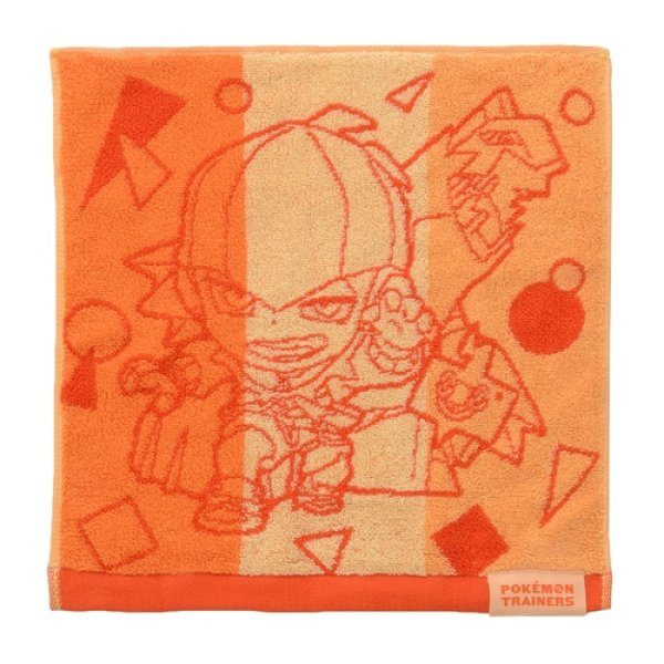 Photo1: Pokemon Center 2020 Pokemon Trainer Hand towel Handkerchief Raihan Duraludon (1)
