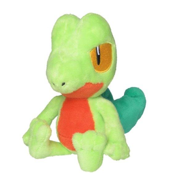 Photo1: Pokemon Center 2021 Pokemon fit Mini Plush #252 Treecko doll Toy (1)