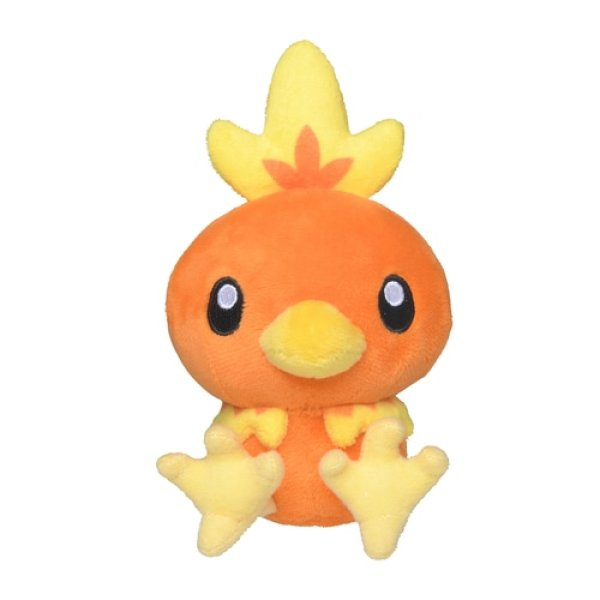 Photo1: Pokemon Center 2021 Pokemon fit Mini Plush #255 Torchic doll Toy (1)