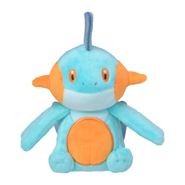 Photo1: Pokemon Center 2021 Pokemon fit Mini Plush #259 Marshtomp doll Toy (1)
