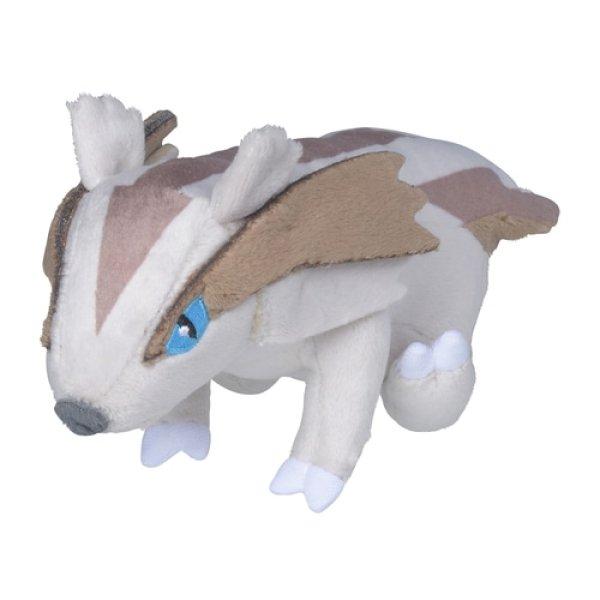 Photo1: Pokemon Center 2021 Pokemon fit Mini Plush #264 Linoone doll Toy (1)