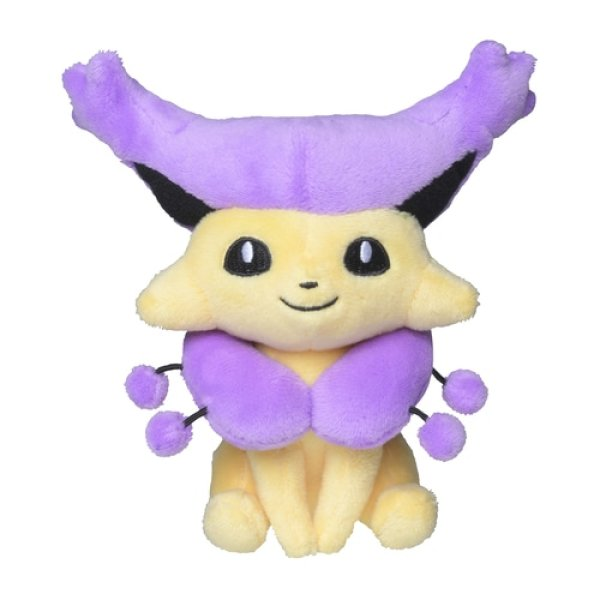 Photo1: Pokemon Center 2021 Pokemon fit Mini Plush #301 Delcatty doll Toy (1)