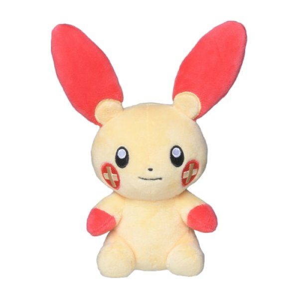 Photo1: Pokemon Center 2021 Pokemon fit Mini Plush #311 Plusle doll Toy (1)