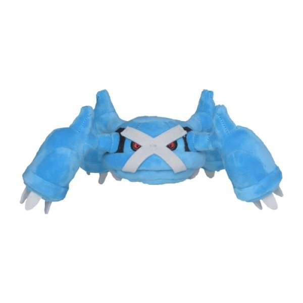 Photo1: Pokemon Center 2021 Pokemon fit Mini Plush #376 Metagross doll Toy (1)
