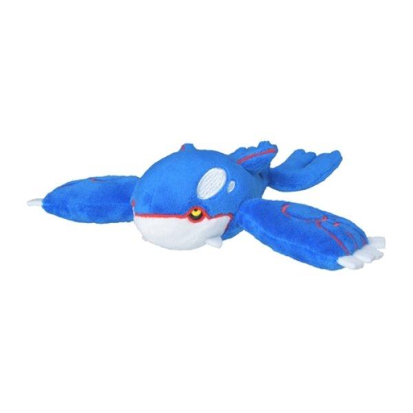 Photo1: Pokemon Center 2021 Pokemon fit Mini Plush #382 Kyogre doll Toy (1)