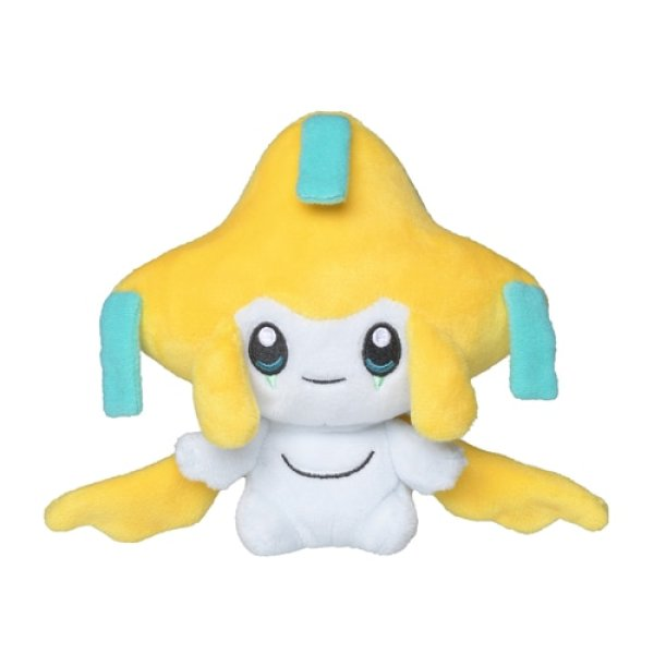 Photo1: Pokemon Center 2021 Pokemon fit Mini Plush #385 Jirachi doll Toy (1)