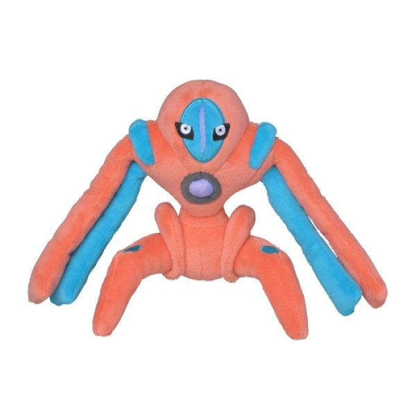 Photo1: Pokemon Center 2021 Pokemon fit Mini Plush #386 Deoxys Defense Form doll Toy (1)