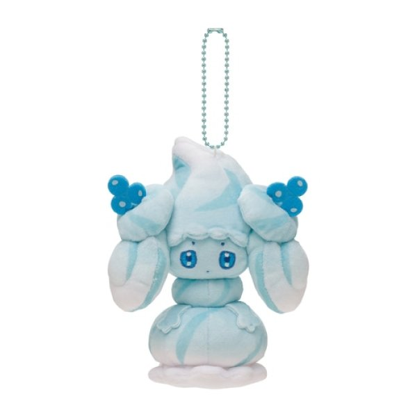 Photo1: Pokemon Center 2021 Mawhip a la mode Alcremie (Milky Mint) Plush Mascot Key chain (1)