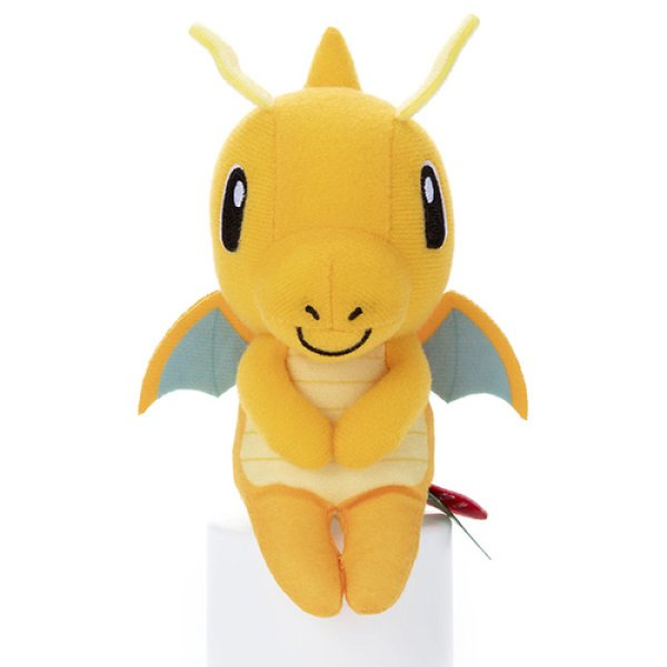 Photo1: Pokemon 2020 Takara Tomy Arts Chokkori-san Sitting Plush Chokkori Dragonite (1)