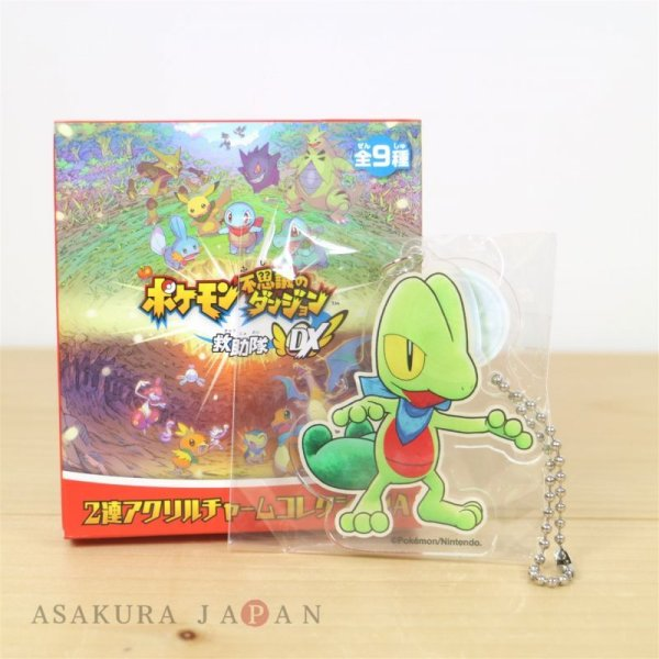 Photo1: Pokemon Center 2020 Mystery Dungeon Rescue Team DX Acrylic Key chain A #6 Treecko (1)