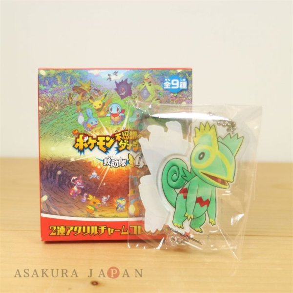 Photo1: Pokemon Center 2020 Mystery Dungeon Rescue Team DX Acrylic Key chain A #9 Kecleon (1)