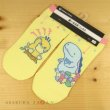 Photo2: Pokemon Center 2020 Psyduck No-Tenki Socks for Women 23 - 25 cm 1 Pair Psyduck & Quagsire (2)