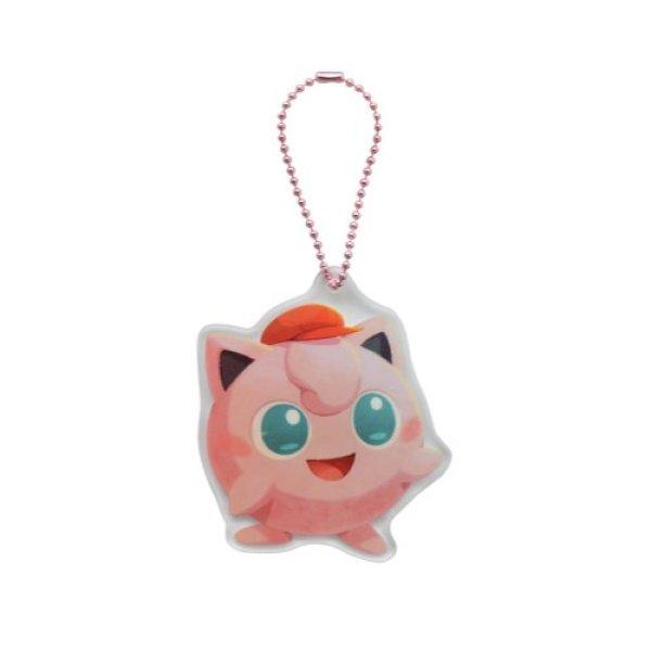 Photo1: Pokemon Center 2020 Pokemon Cafe Mix Acrylic Charm Key chain #11 Jigglypuff (1)