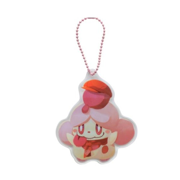 Photo1: Pokemon Center 2020 Pokemon Cafe Mix Acrylic Charm Key chain #6 Slurpuff (1)