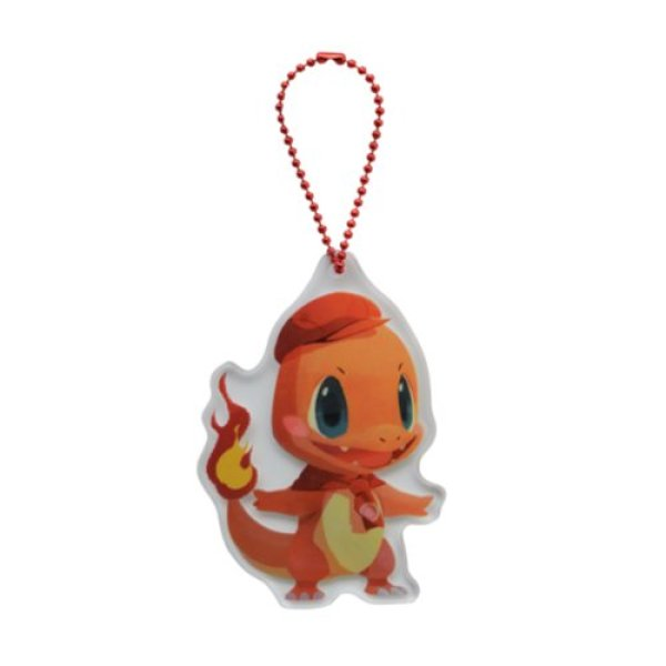 Photo1: Pokemon Center 2020 Pokemon Cafe Mix Acrylic Charm Key chain #7 Charmander (1)