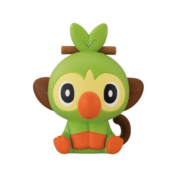 Photo1: Pokemon 2020 BANDAI FIGURE x CLIP Figulip vol.4 Grookey Mini Figure (1)