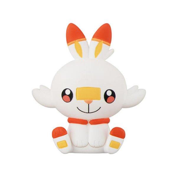Photo1: Pokemon 2020 BANDAI FIGURE x CLIP Figulip vol.4 Scorbunny Mini Figure (1)
