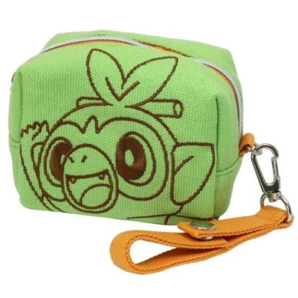 Photo1: Pokemon 2020 Mini Mini Pouch case Grookey Coin purse (1)