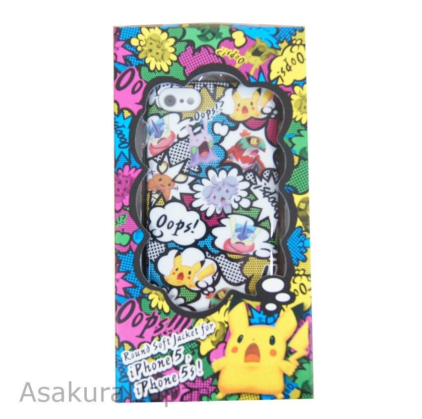Pokemon Center Original Soft jacket for iPhone 8//7//6s//6 Rainbow Rocket Skull