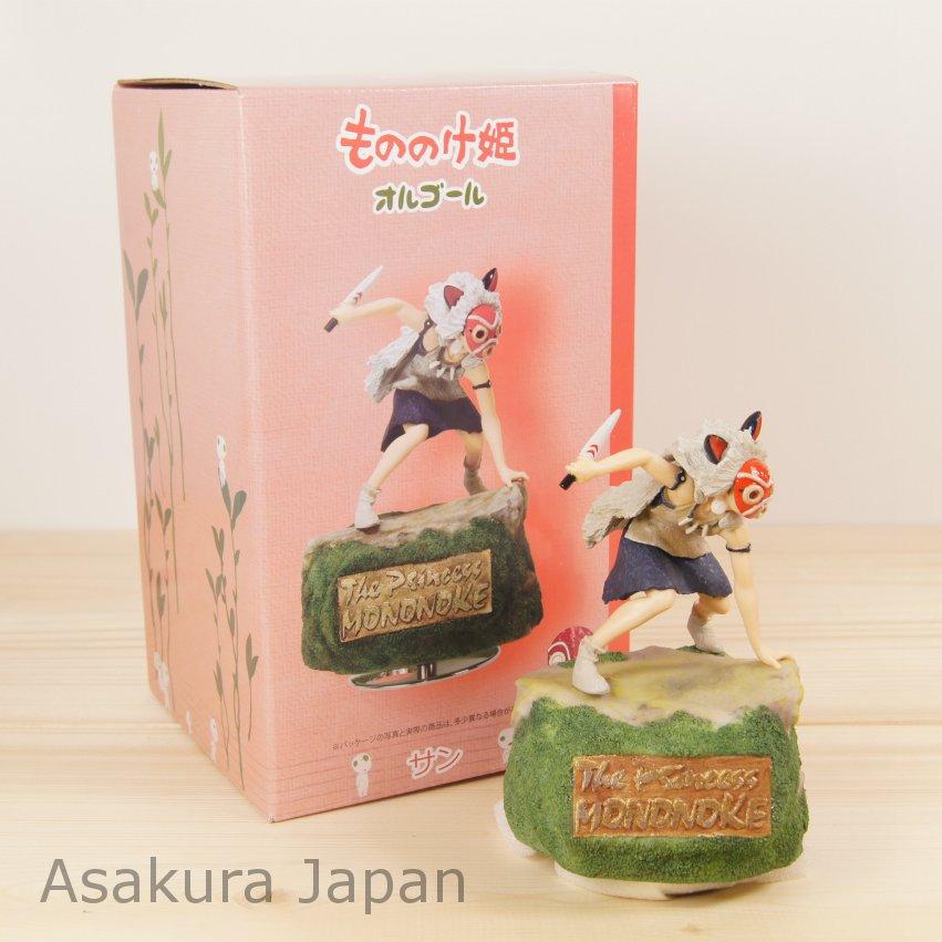 Studio Ghibli Princess Mononoke San Music box                                        [15112801]