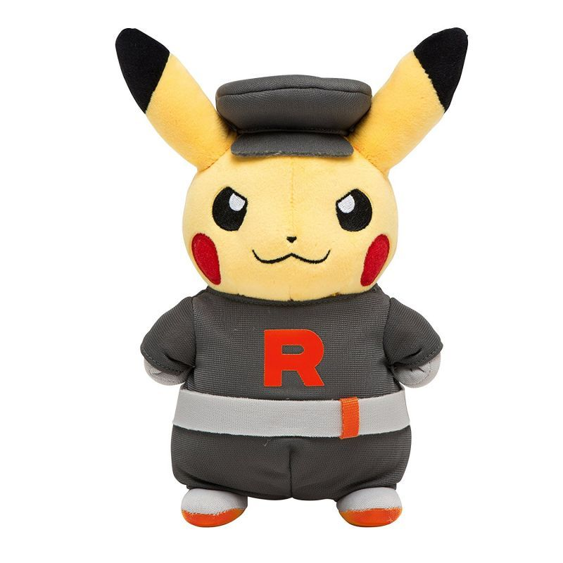 pokemon center 2016 secret teams team rocket pikachu plush toy