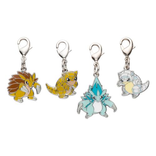 Pokemon Center #My151 Metal Charm # 016 017 018 Pidgey Pidgeotto Pidgeot
