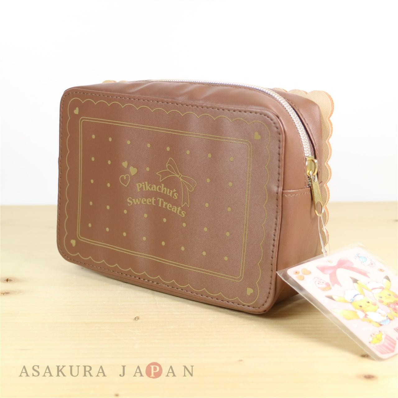 Pokemon Center Original Pikachu/'s Sweet Treats Drawstring Bag pouch From Japan