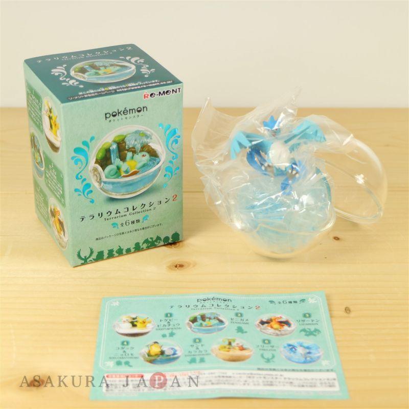 Pokemon Terrarium Collection vol.2 #6 Articuno Mini Figure From Japan