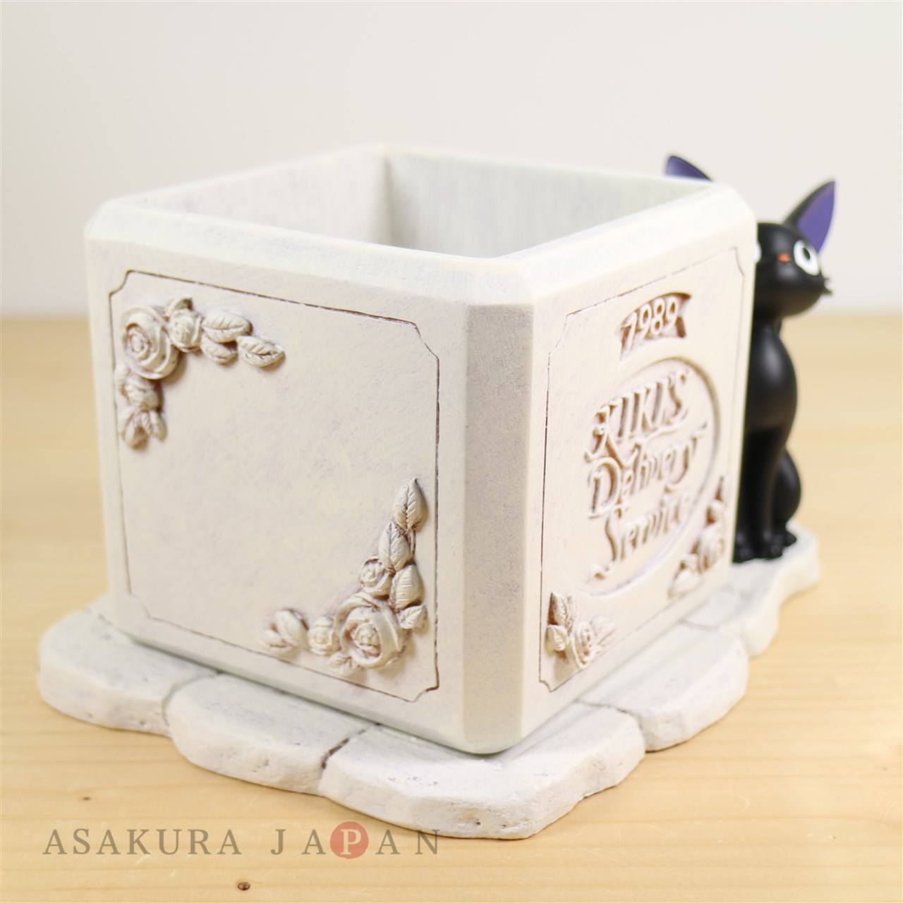 Studio Ghibli Planter Kikis Delivery Service Jiji White Flower Pot