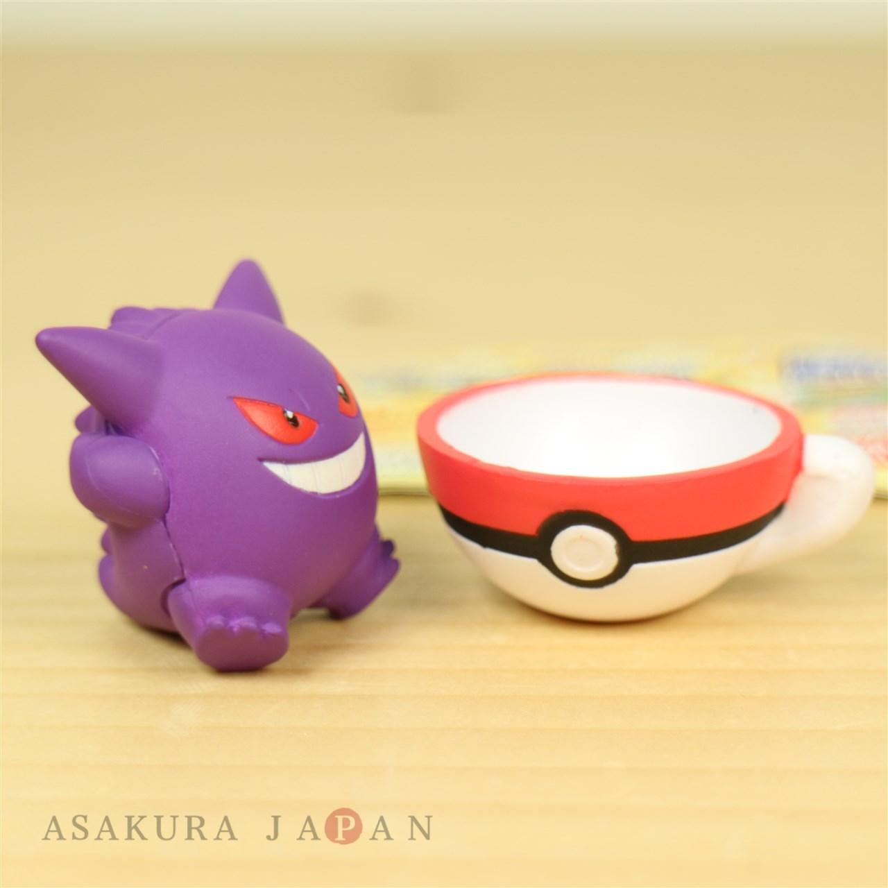 Pokemon Teacup Time Mascot Volume 2 Mini Figure Collection 0483095 Gashapon Tea Cup 4 24573 Gacha Vol4 Gengar Bandai 18072111