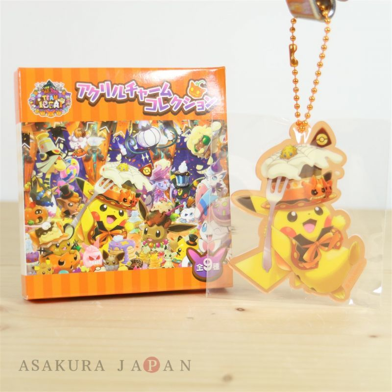 Pokemon Center POKEMON BAND FES Hologram Acrylic Charm Key chain #7 Pikachu