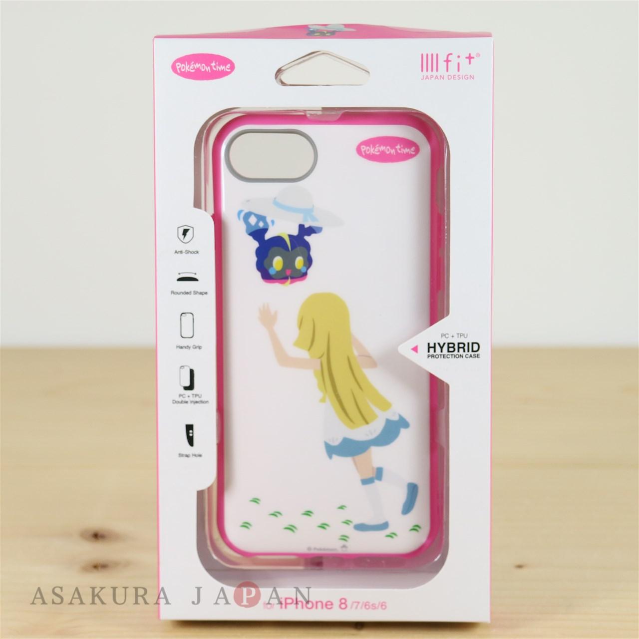 Pokemon Center 2018 pokemon time jacket for iPhone 8/7/6s/6 case Lillie Cosmog