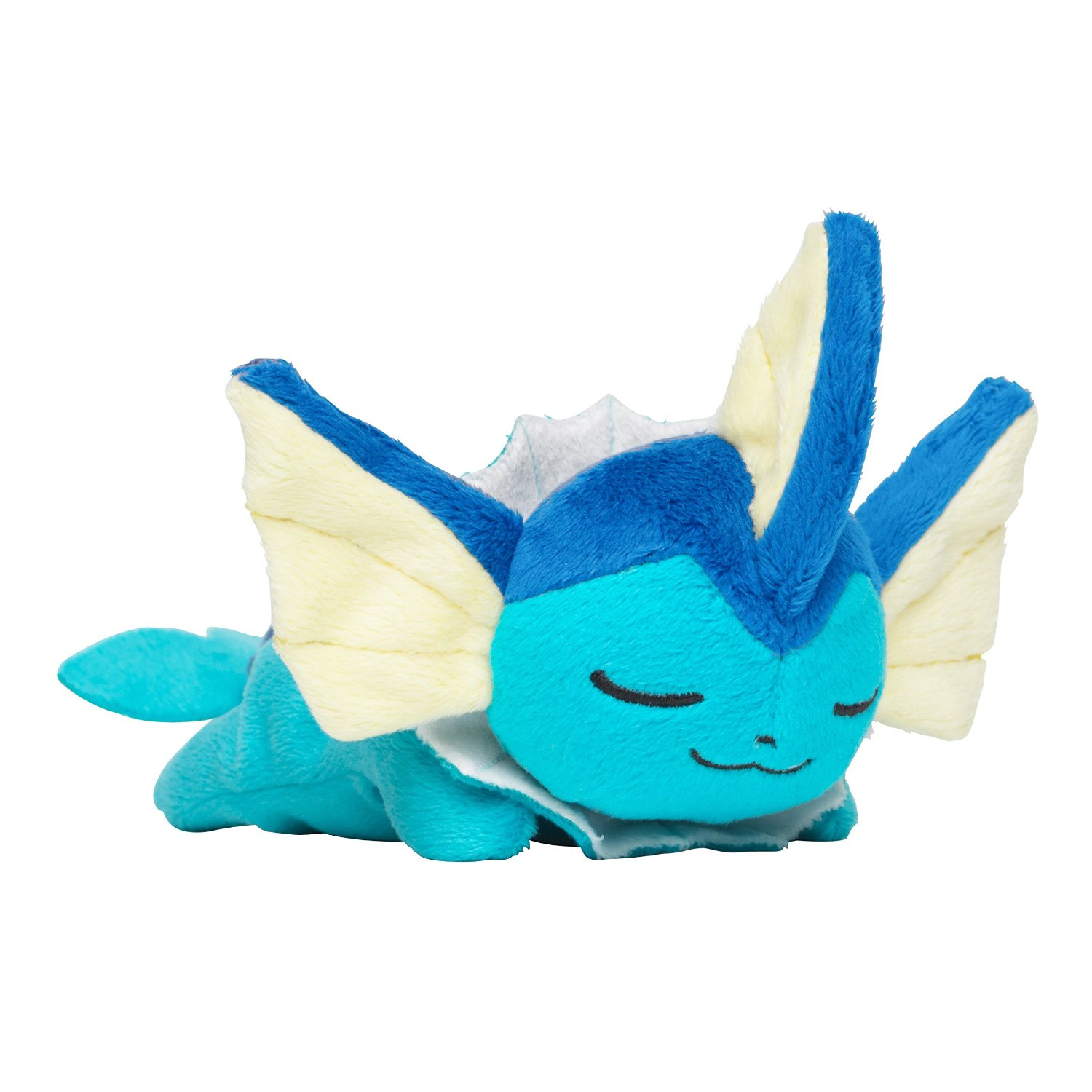 Pokemon Center 2018 Kuttari Series Vaporeon Plush Toy