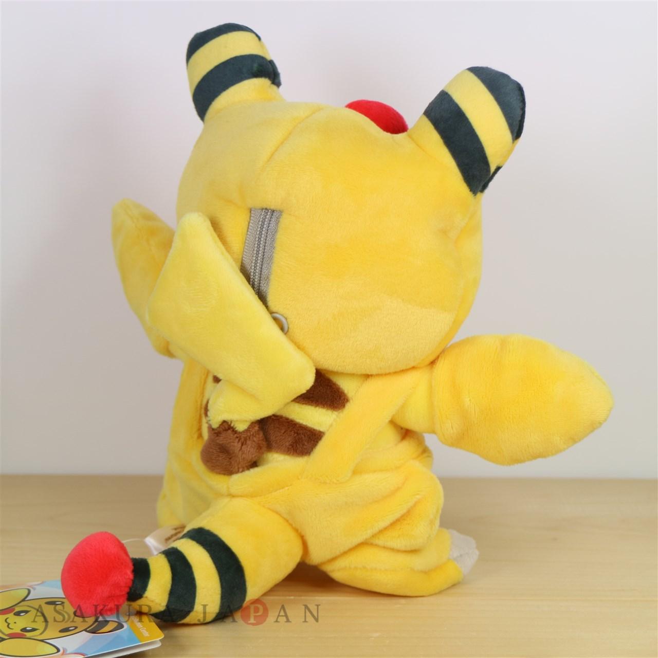 Denryu Pokemon Center Original Plush Doll Ampharos Mania Pikachu 4521329252551