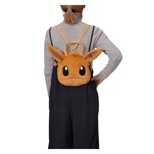 Pokemon Center Original Eevee's Closet Plush 3 WAY Bag Backpack Hand Shoulder